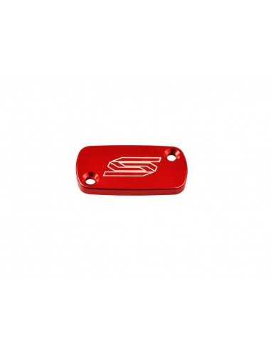 Front master cylinder cover SCAR red